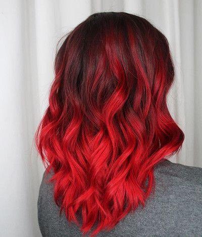 Valentine: Bright Red Vegan Semi-Permanent Hair Dye - Lime Crime