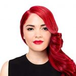 Look ravishing with bright red hair dye