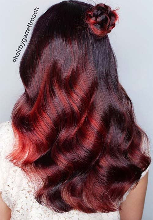 100 Badass Red Hair Colors: Auburn, Cherry, Copper, Burgundy Hair