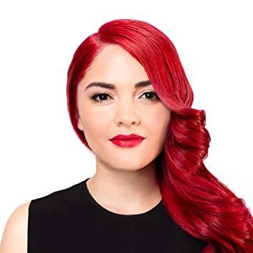 Look ravishing with bright red hair dye