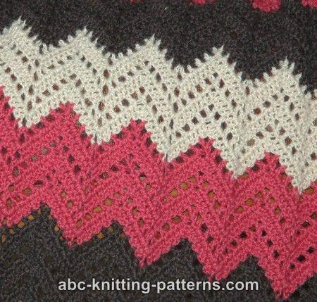 Lace Ripple Afghan | Crochet | Crochet, Crochet patterns, Afghan