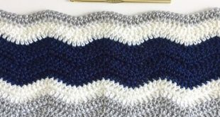 How to Crochet a Ripple Blanket | Daisy Farm Crafts