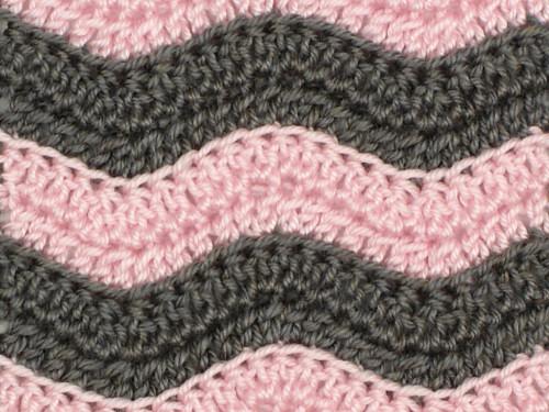 Granny's favourite ripple crochet pattern - Crochet and Knitting