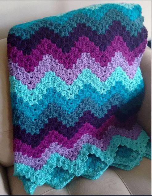Vintage Ripple Crochet Pattern - Crochet Nook