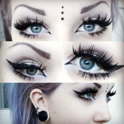 scene makeup   Tumblr