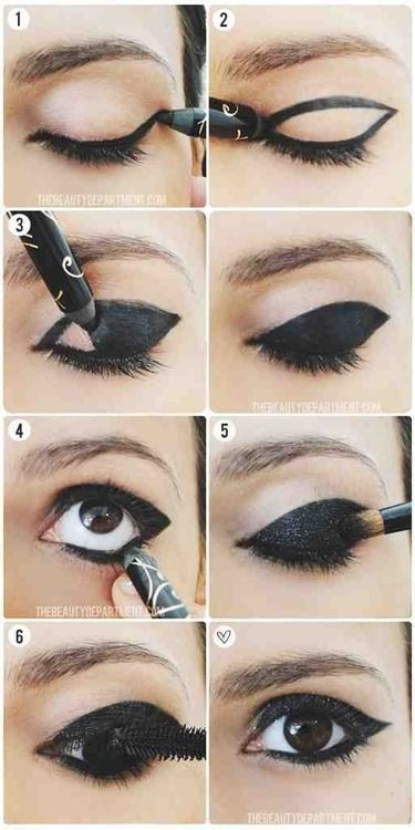 eye makeup tutorial   ☻Scene Hair☻   Pinterest   Makeup, Eye