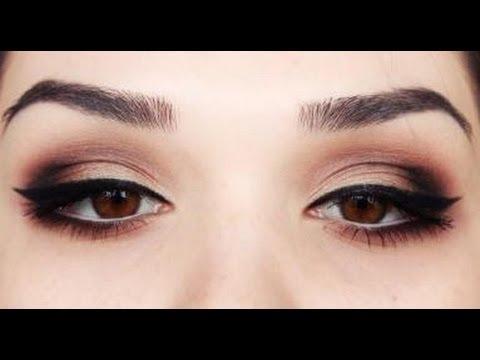 Valentines day Sexy eye make up tutorial - YouTube