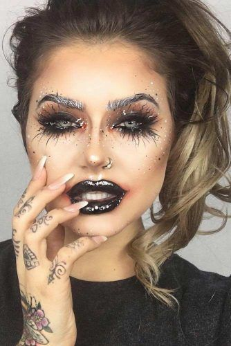 39 Sexy Halloween Makeup Looks That Are Creepy Yet Cute | Makeup