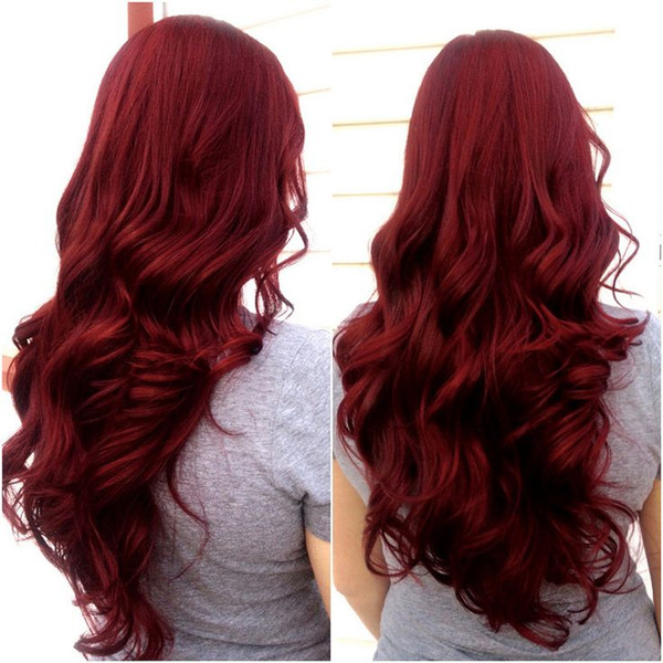 10 Shades of Red, More Choices to Dye Your Hair Red - Vpfashion