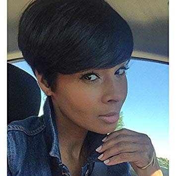 Amazon.com : Short Black Hairstyles Synthetic Short Wigs For Black
