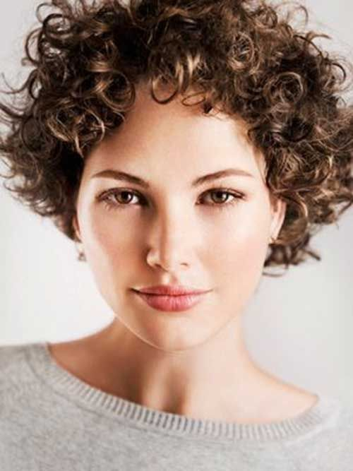 30 Curly Short Hairstyles For Womens | Hairstyles for curly hair