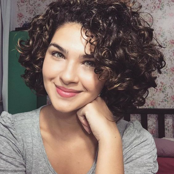 Women's Cute Short Curly Hairstyles for 2017 Spring   Hair