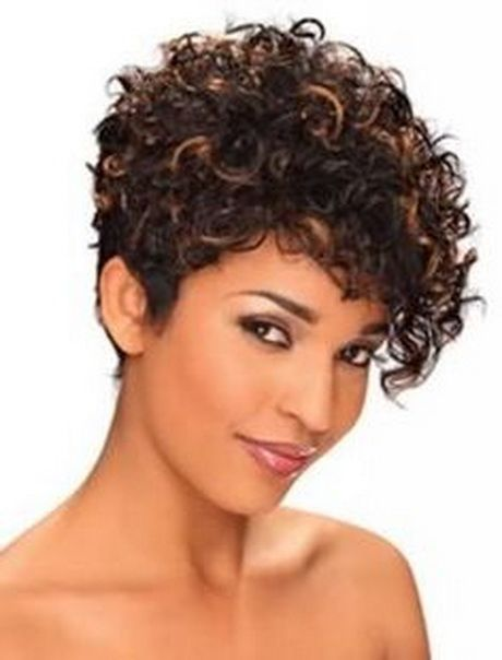 Change the way your hair looks, with the   short curly hairstyles