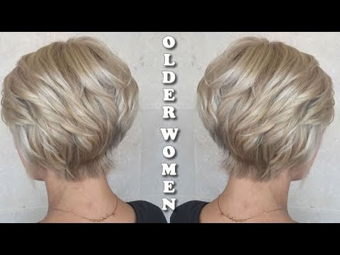 Hairstyles for Women Over 50 - Grey Hair and Short Hair For Older