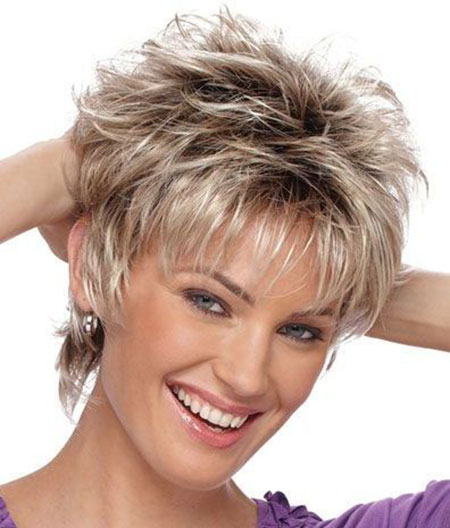 Golden Look After Golden Age Short Hairstyles For Women Over