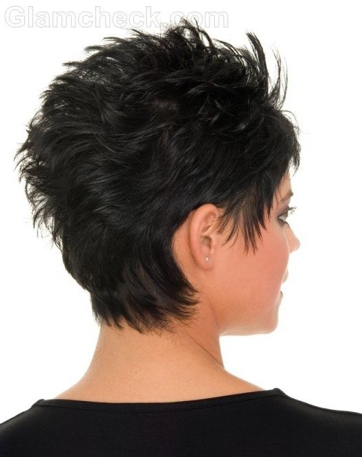 Short Messy Hairstyles: Black Hair - PoPular Haircuts