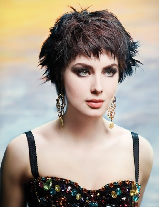 Short Cropped Hairstyle: Messy Haircuts - PoPular Haircuts