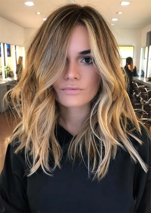 51 Medium Hairstyles & Shoulder-Length Haircuts for Women in 2019