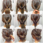 Learn how to enhance your looks with   Simple hairstyles.