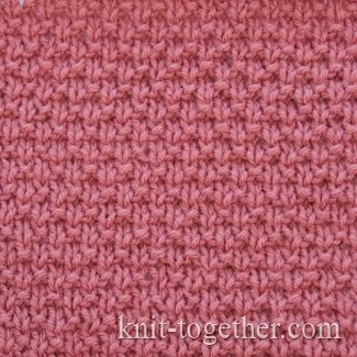 Knit Together | Simple Stitch Pattern 2 with needles, knitting