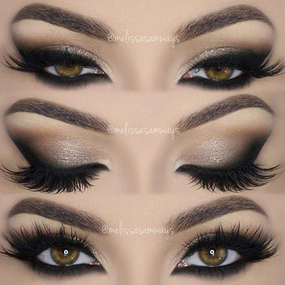 40 Hottest Smokey Eye Makeup Ideas 2019 & Smokey Eye Tutorials for
