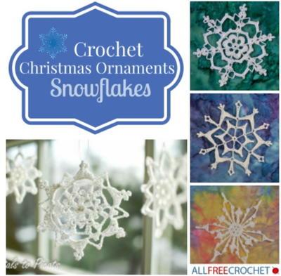 31 Crochet Snowflake Ornaments | AllFreeCrochet.com