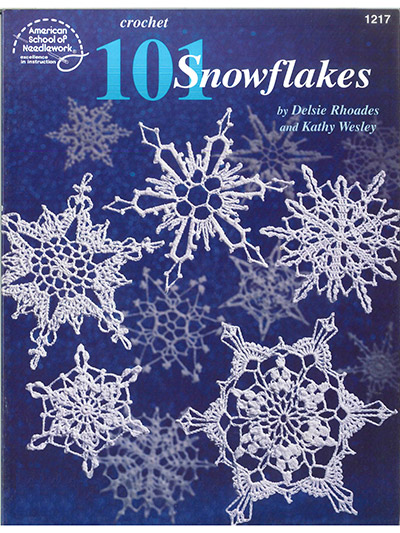 101 Snowflakes Crochet Pattern Book