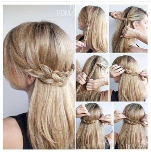 9 Homecoming hair ideas for straight hair on We Heart It