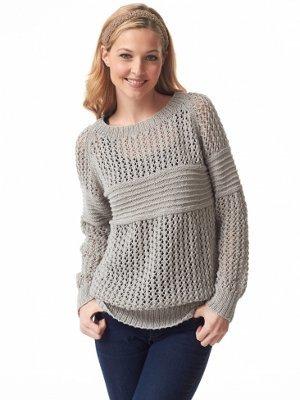 Heirloom Lace Pullover Pattern   AllFreeKnitting.com