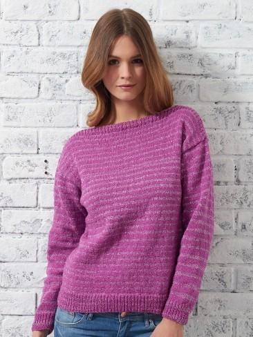 Bateau Sweater   AllFreeKnitting.com