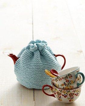 Beginner Tea Cozy Knitting Pattern | AllFreeKnitting.com