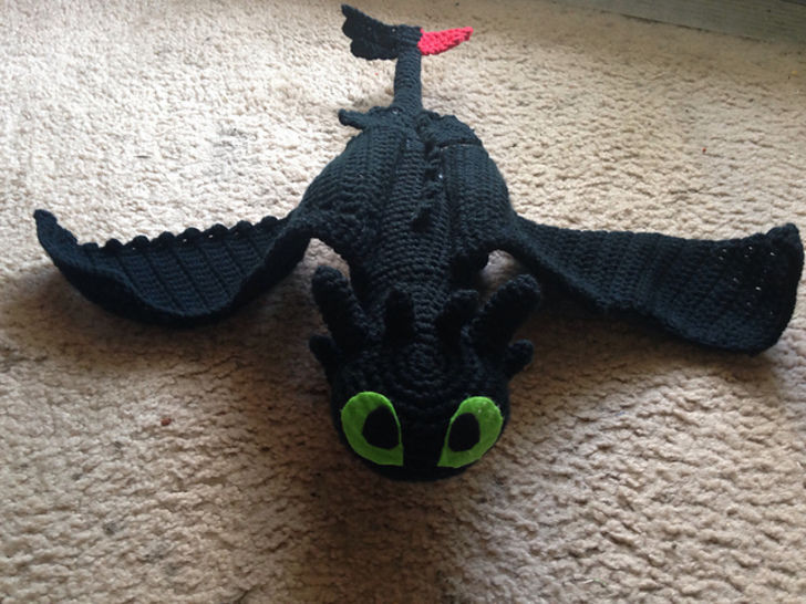 Toothless - Crochet