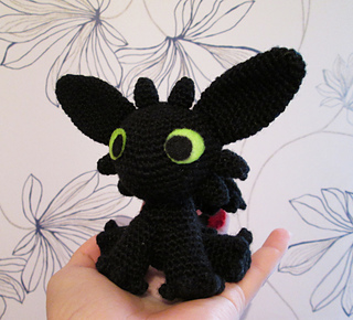 Ravelry: Toothless Amigurumi pattern by Sarselgurumi