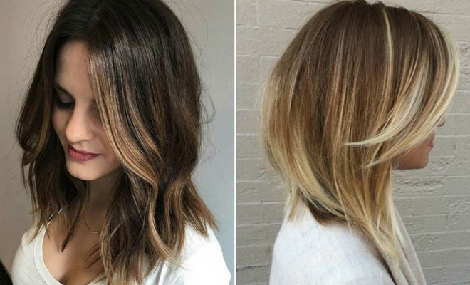 Look up to date with trendy hairstyles