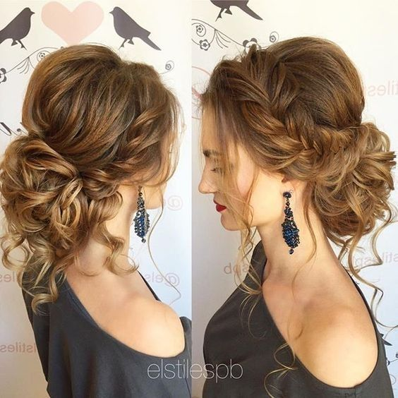 10 Pretty Messy Updos for Long Hair: Updo Hairstyles 2019 | Hair