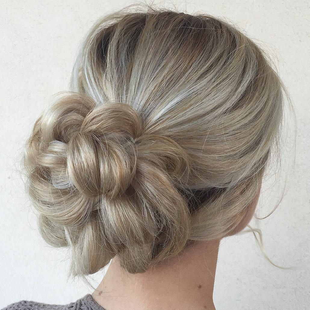 40 Updos for Long Hair u2013 Easy and Cute Updos for 2019
