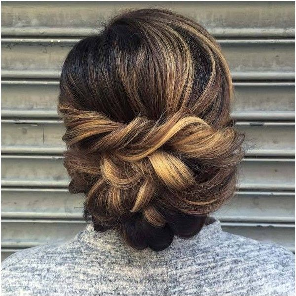 50 Amazing Updos for Medium Length Hair STYLE SKINNER via Polyvore