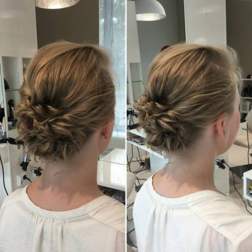 The 19 Cutest Updos for Short Hair in 2019