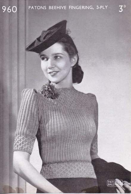 The Winter Hot Vintage Knitting Patterns