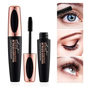 Amazon.com: 4D Silk Fiber Lash Mascara - Waterproof Makeup Eyelash
