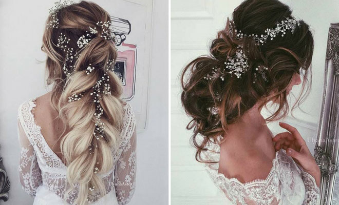 23 Romantic Wedding Hairstyles for Long Hair | StayGlam
