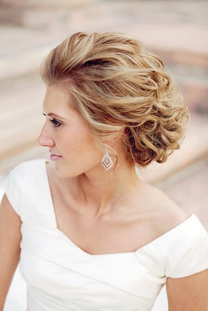 Wedding Hairstyles - Gorgeous Wedding Hair And Makeup #797861 - Weddbook