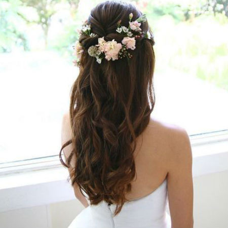 Make the day special with perfect wedding   hair styles