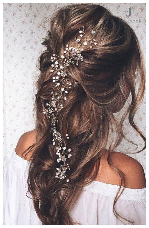 10 Beautiful Wedding Hairstyles For Long Hair l Pink Book Weddings