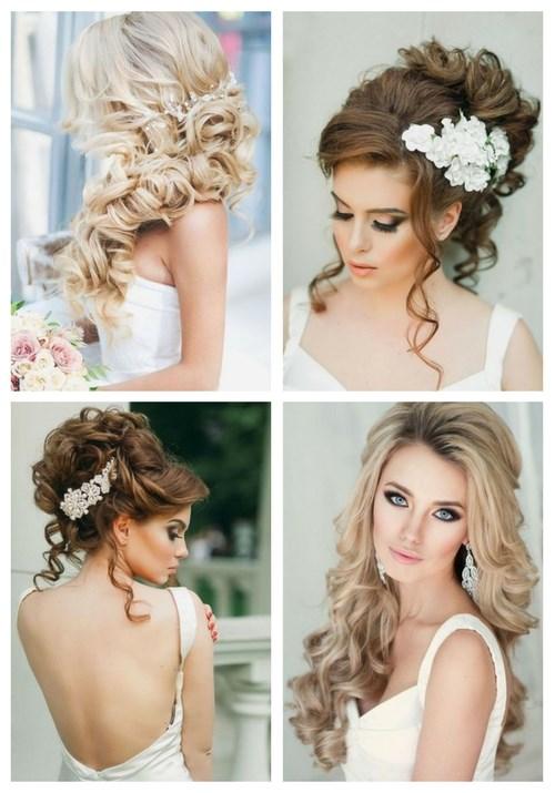 Breathtaking Wedding Hairstyles With Curls   HappyWedd.com