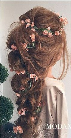 48 Our Favorite Wedding Hairstyles For Long Hair | wedding