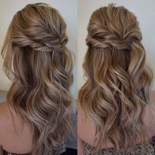 Gorgeous wedding hairstyles for long hair | Tania Maras