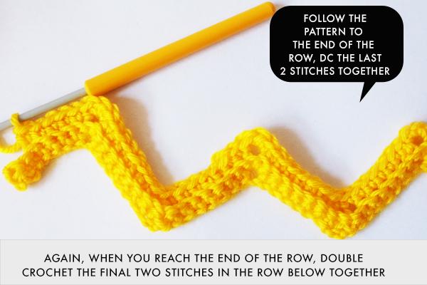 Inspiring Zig Zag Crochet Patterns