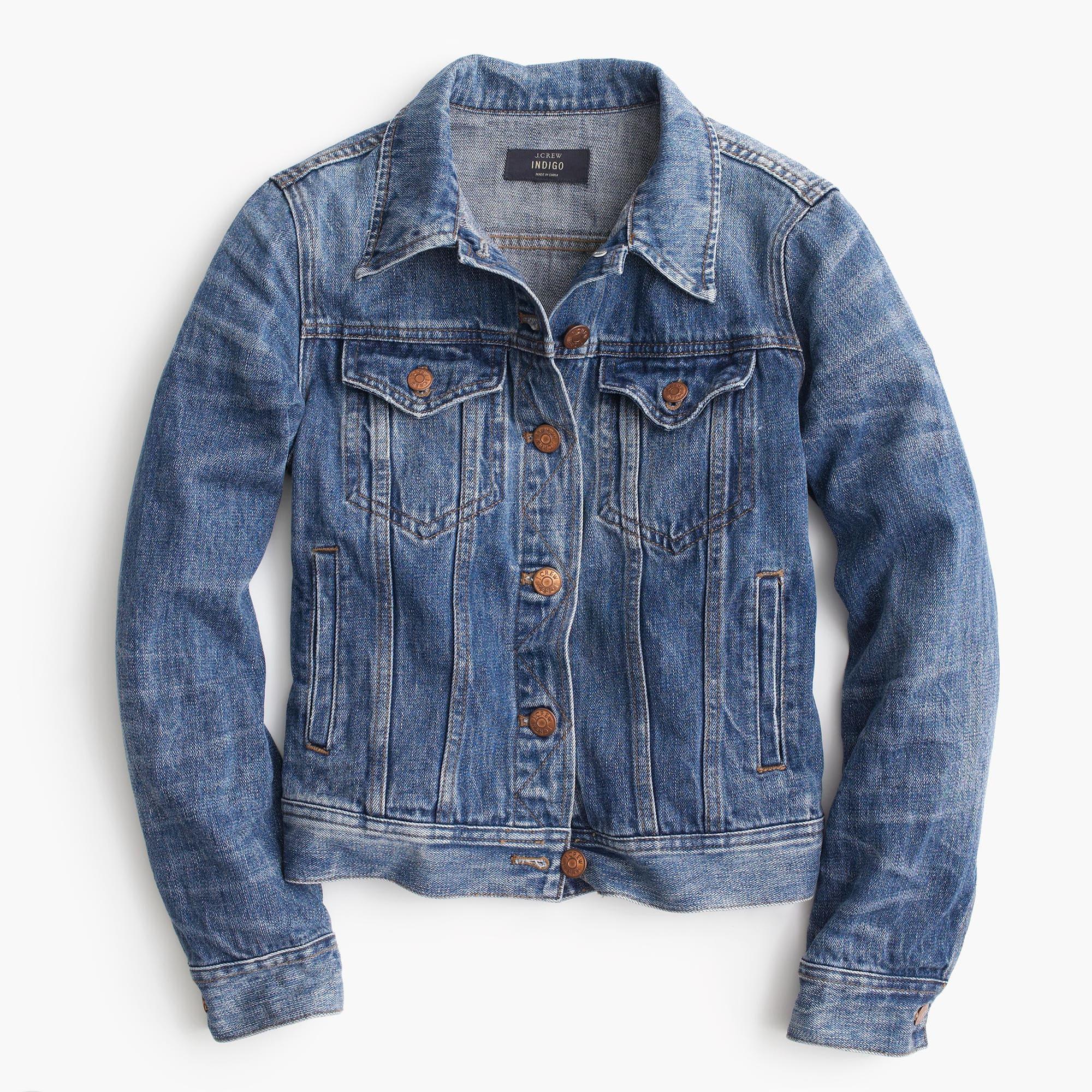 ... classic denim jacket; classic denim jacket PKUJZXV