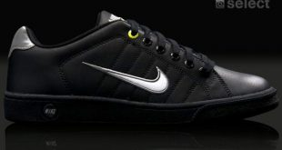 ... nike court tradition 2 - black / white / volt ... YSTWGLG
